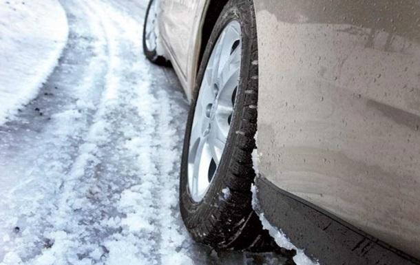 На трассах 5-ти областей из-за дождя игололеда ограничили движение