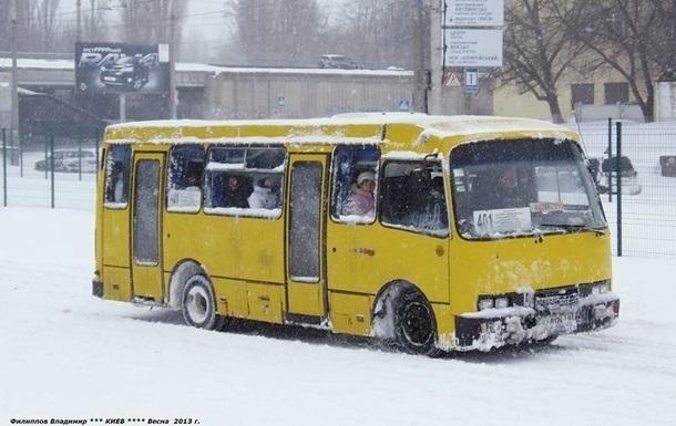 Мэрия украинской столицы призывает снизить цены напроезд вмаршрутках