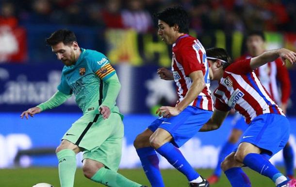 «Барселона» сыграла вничью с«Атлетико» ипрошла вфинал Кубка Испании