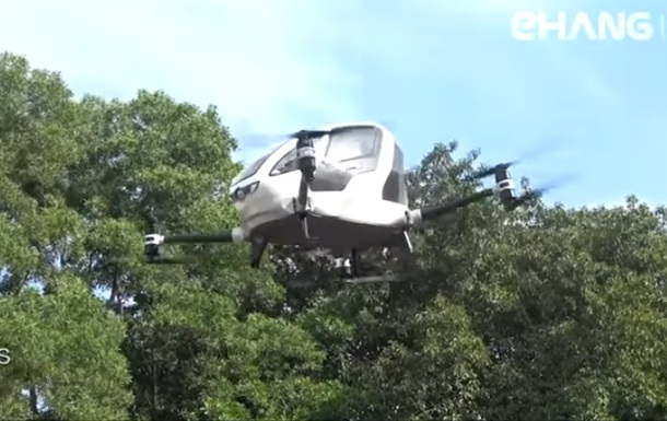 Летом вДубае заработают пассажирские дроны-беспилотники