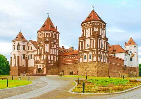 Красота древних замков республики Беларусь