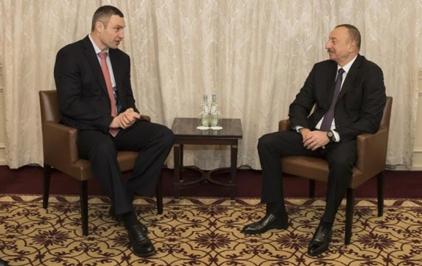 Кличко обговорив з главою Азербайджану інвестиції в Київ