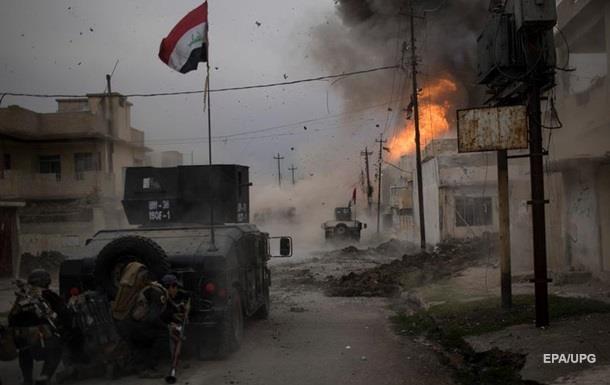 После взрыва ввосточной части Мосула пострадало несколько человек
