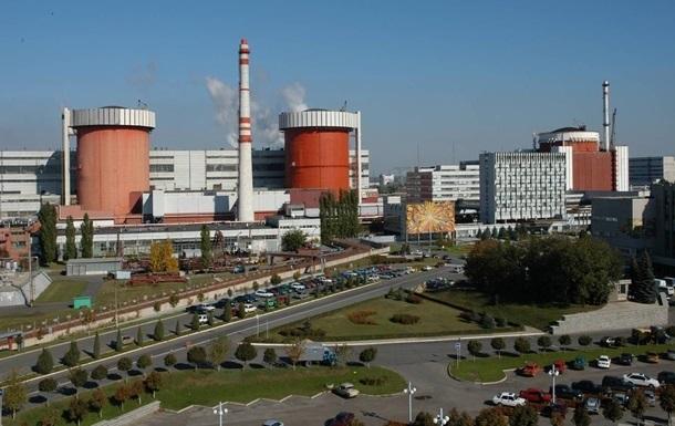 Украинские АЭС засутки произвели 289,34 млн кВт-ч электрической энергии
