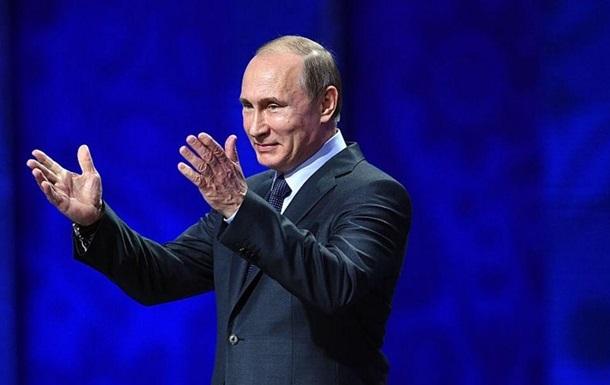 Рейтинг В. Путина достиг максимума вСША запоследние 14 лет