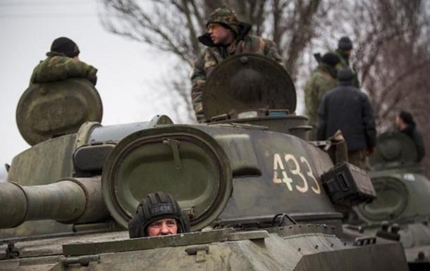 День вАТО: Боевики использовали «Грады». Один военный ранен