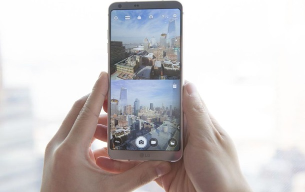 LG представил новый флагманский смартфон G6