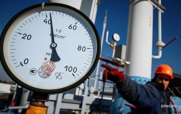 Украина сократила запасы газа на43%