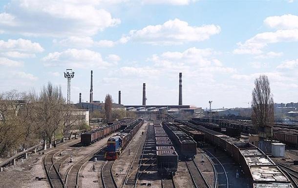 Работу донецкого завода остановили из-за блокады