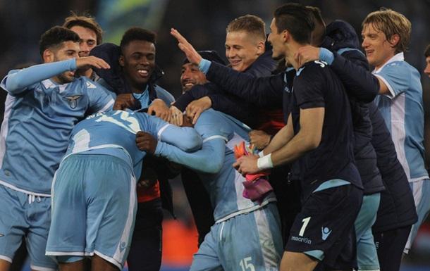 «Рома» потерпела поражение от«Лацио» впервом матче полуфинала Кубка Италии