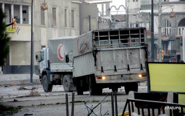 Атаку нагумконвой под Алеппо совершили ВВС Сирии— Доклад ООН