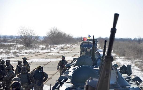 Засутки наДонбассе ранены двое украинских военных
