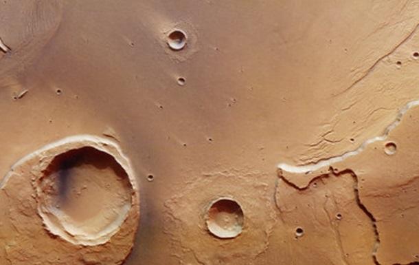 На Марсі знайшли сліди величезної повені