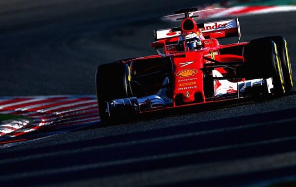 Райкконен стал лучшим в последний день тестов Формулы-1 в Барселоне