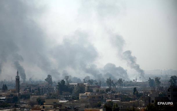 Армия Ирака при помощи США снова атакует Мосул
