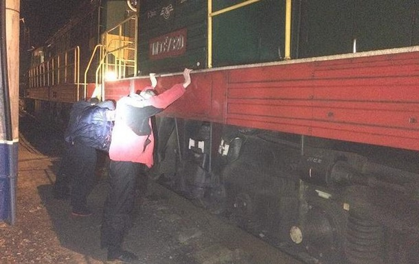 На ЮЗЖД в Киеве ежемесячно воровали дизтопливо на миллион