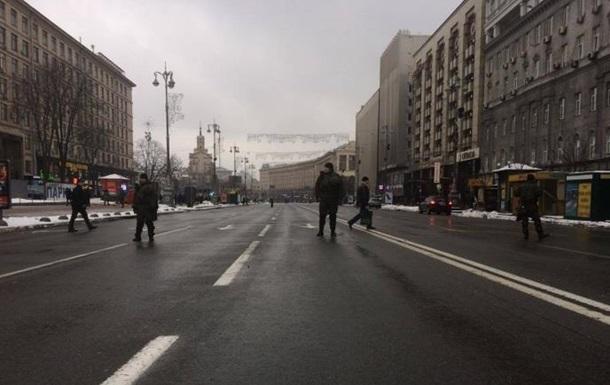 Власти Киева всреду ограничат движение транспорта вцентре города
