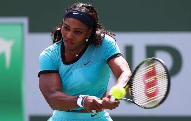 Серена Уильямс покинет первое место мирового рейтинга WTA