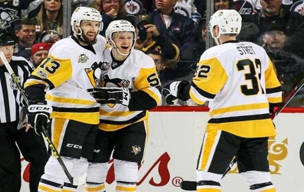 НХЛ: Піттсбург здобув результативну перемогу над Вінніпегом, Бостон розгромив Детройт
