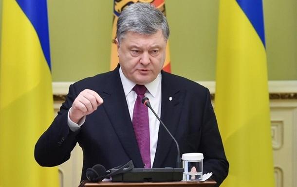 Порошенко: Нателевидении недостаточно украинского языка