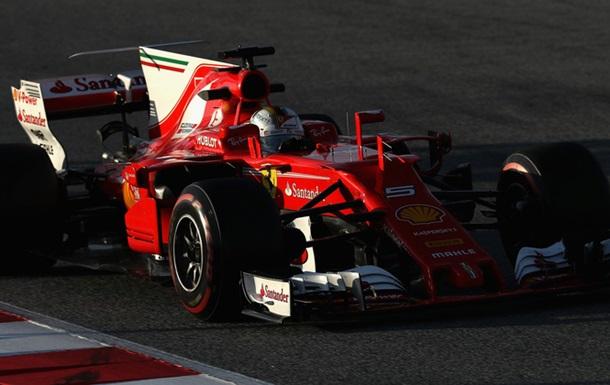 Формула-1: Феттель оказался быстрее Хэмилтона по итогам третьего дня тестов