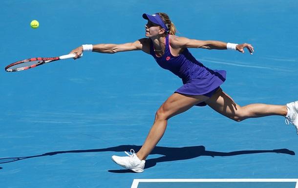 Теннис: Цуренко не смогла пройти во второй раунд Индиан-Уэллса