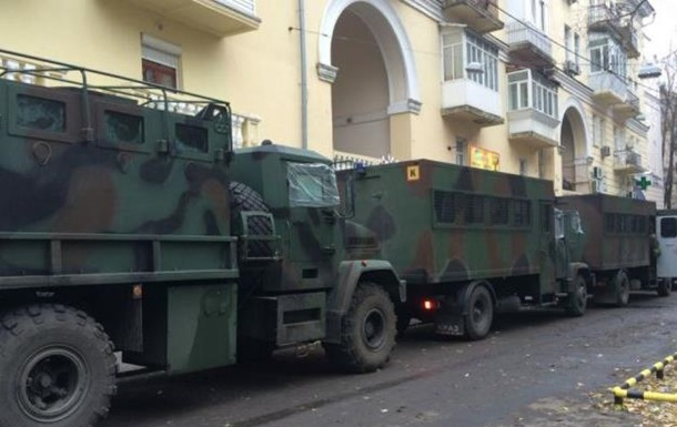 Центр Киева охраняют полторы тысячи полицейских