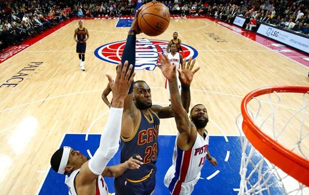 НБА: Кливленд разгромил Детройт, Голден Стэйт сильнее Филадельфии