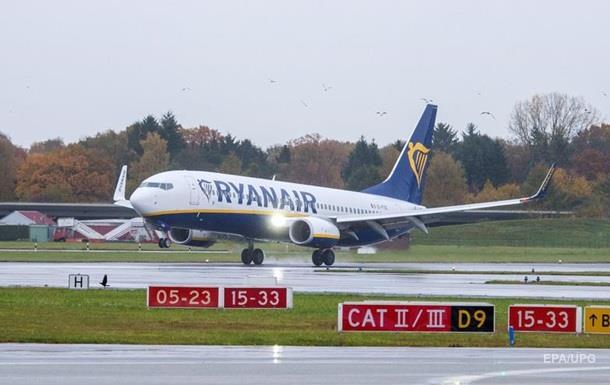 Ryanair начала реализацию билетов из украинской столицы иЛьвова