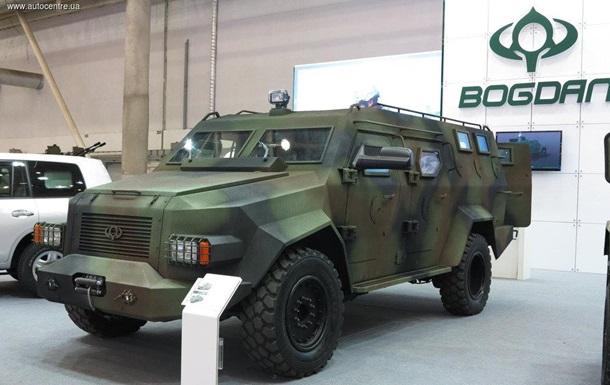 «Богдан» продемонстрировал новые броневики для ВСУ