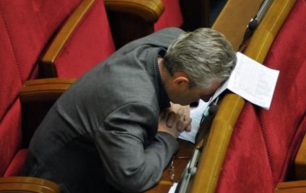 Всесвітній день сну. Як політики сплять на роботі
