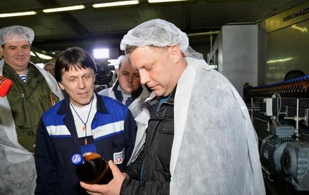 В Донецке запустили пивзавод Ахметова