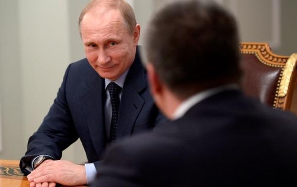 Аксьонов: Путін повинен бути довічним президентом