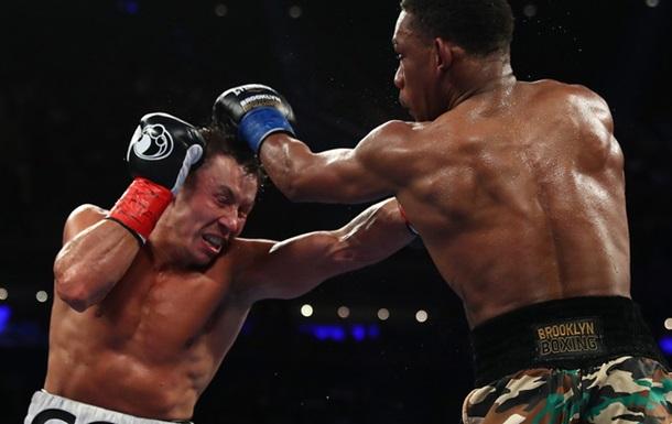 Головкін - Джейкобс: Cтатистика ударів боксерів