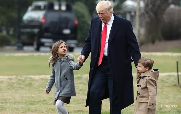 Трамп станет дедушкой в девятый раз