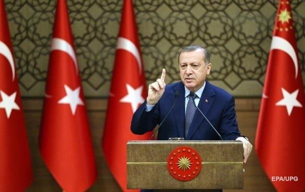 Эрдоган пригрозил провести в Турции референдум о вступлении в ЕС