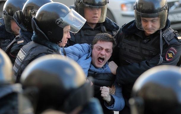США осудили задержания протестующих в Российской Федерации