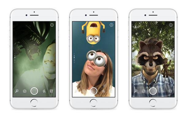 Фейсбук «позаимствовал» целый ряд функций Snapchat