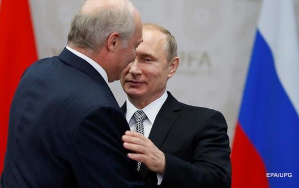 Лукашенко поздравил В.Путина сДнем единения народов