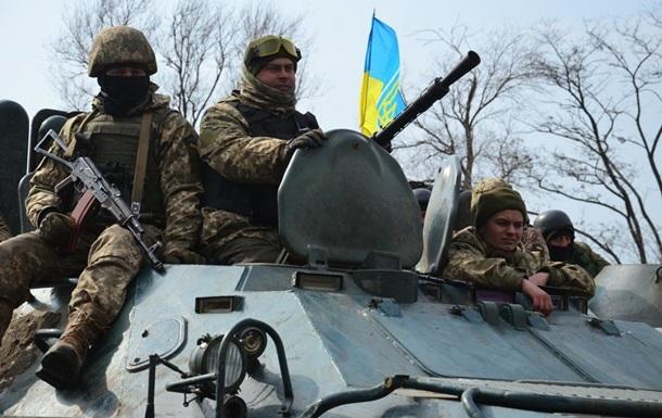 Завчерашний день четверо украинских военнослужащих получили ранения