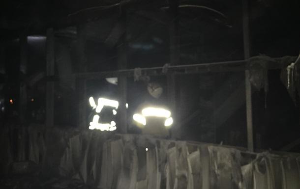 В Киеве горело общежитие, есть пострадавший