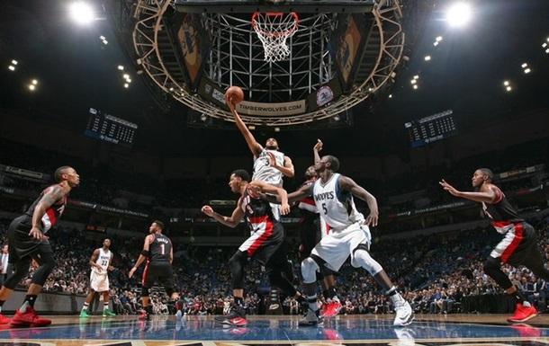 НБА: Миннесота одержала победу над Портлендом