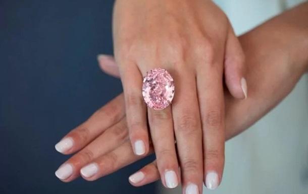 $71 млн за«Розовую звезду»: крупнейший бриллиант продан