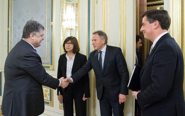 Порошенко обсудил с делегацией Европарламента безвиз