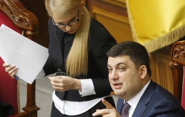 Гройсман предложил отдать «Газпрому» Тимошенко вместо денежных средств