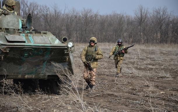 Пасхальное перемирие: 17 обстрелов позиций сил АТО