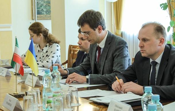 Україна запустить тестовий вантажний потяг в Іран