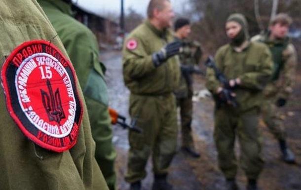 Между ВСУ и Правым сектором война