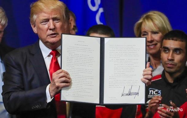 Экс-нардеп прокомментировал указ Трампа  Покупай американское