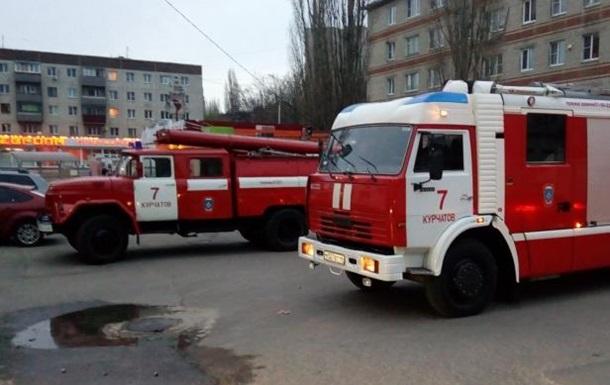 В России загорелся склад с артиллерийским оружием